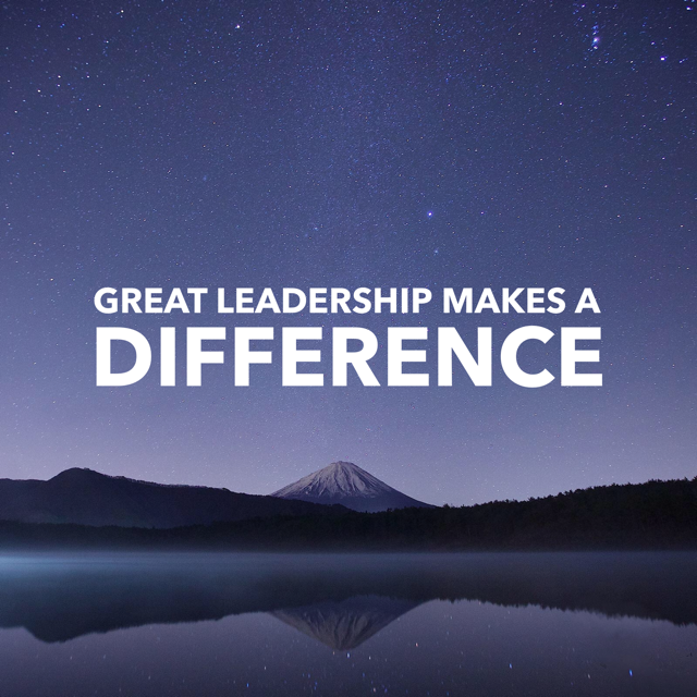how can a leader make a difference
